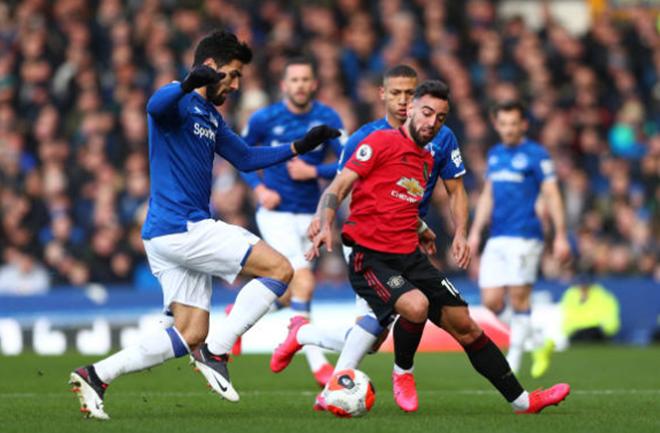 TRỰC TIẾP Everton 1-1 Man United: Fernandes lạ.i trổ tà.i (H2) - Bó.ng Đá.