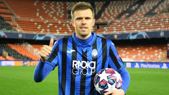 Ilicic tears up record books as four-goal hero sends Atalanta into Champions League quarter-finals - Bóng Đá
