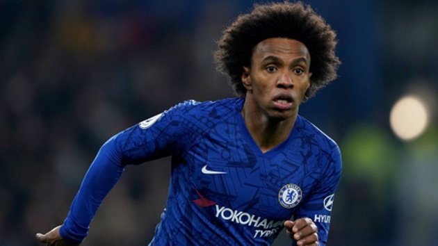 Willian is Chelsea's second-longest serving player and is described as a 'top guy' with 'no airs and graces'. - Bó.ng Đá.