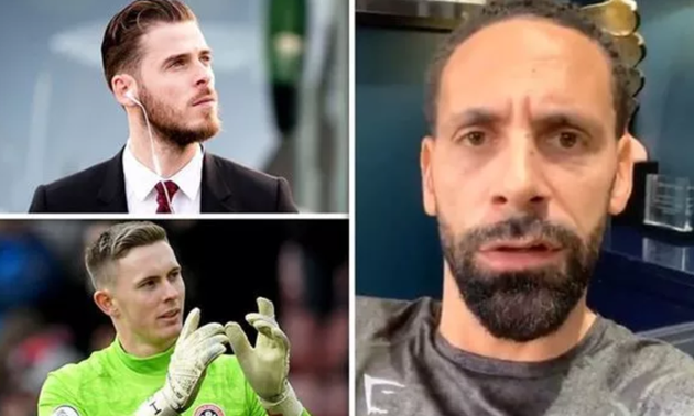 Man Utd legend Rio Ferdinand names who should be United's No 1 goalkeeper next season - Bóng Đá