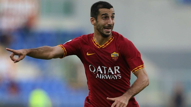 'Roma's football better for me than Arsenal under Emery' - Mkhitaryan enjoying life in Serie A - Bóng Đá