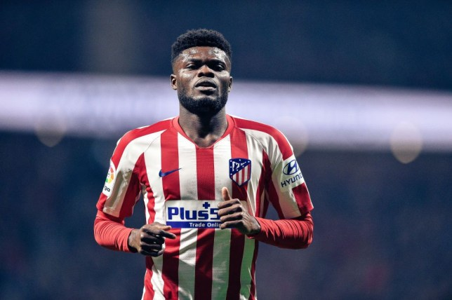 Arsenal and Man Utd set to miss out on Atletico Madrid midfielder Thomas Partey - Bóng Đá