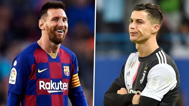 Between Cristiano Ronaldo and Messi for greatest of all time - Vazquez - Bóng Đá