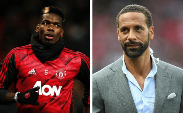 Rio Ferdinand names the player Man United should sign to replace Paul Pogba - Bóng Đá
