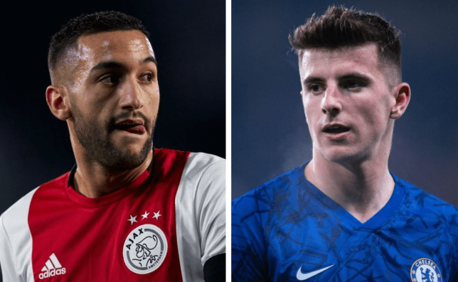 Chelsea star Mason Mount excited to play alongside 'amazing' Hakim Ziyech - Bóng Đá