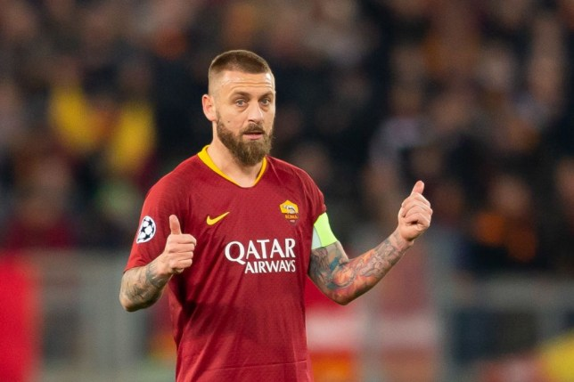 Roma legend Daniele De Rossi admits he wanted to join Manchester United Comment - Bóng Đá