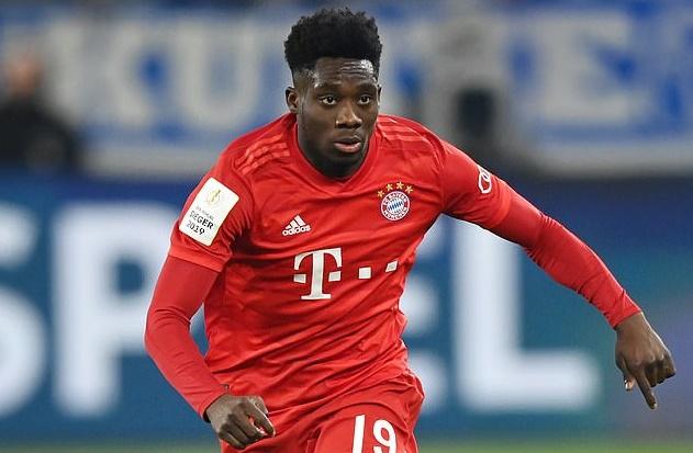 Alphonso Davies signs new contract with Bayern Munich until 2025 - Bóng Đá