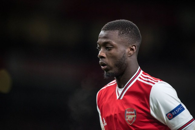 Arsenal 'flop' Nicolas Pepe is being played out of position, says Stewart Robson - Bóng Đá
