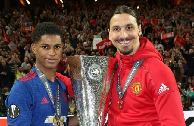 Marcus Rashford says Zlatan Ibrahimovic was 'key' to his Manchester United career - Bóng Đá