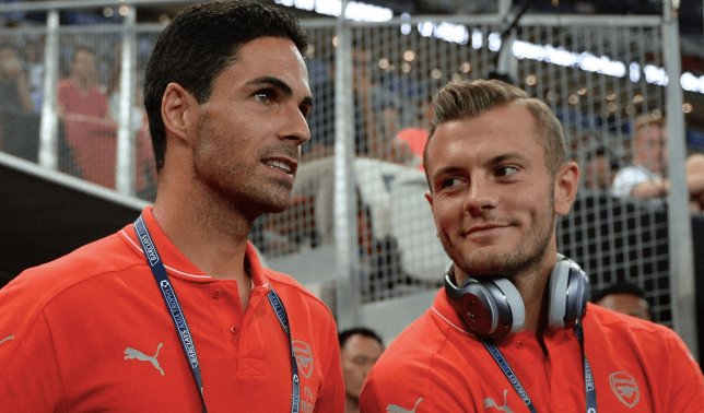 Jack Wilshere identifies the major change Mikel Arteta has made at Arsenal - Bóng Đá