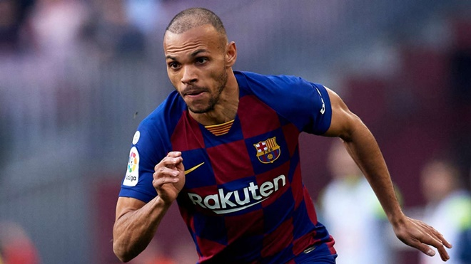 Braithwaite claims he will be one of La Liga's top goalscorers at Barcelona and says 'nobody trains like I do' - Bóng Đá