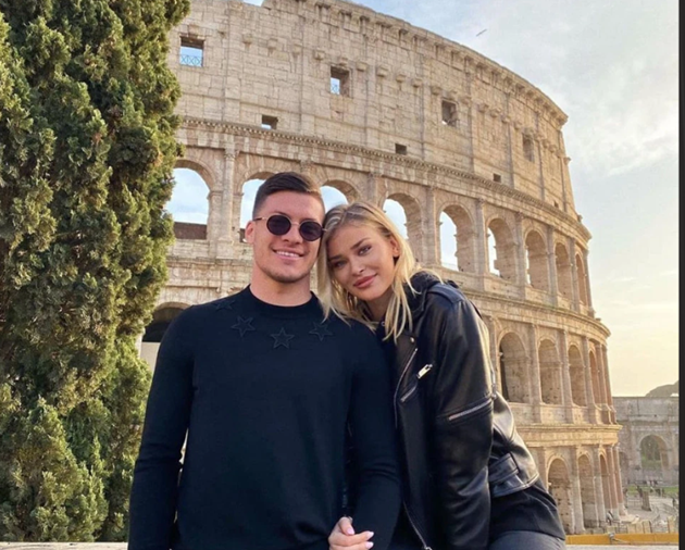 Luka Jovic's stunning Wag shares topless picture as Real Madrid star is linked with Newcastle and Arsenal transfers - Bóng Đá
