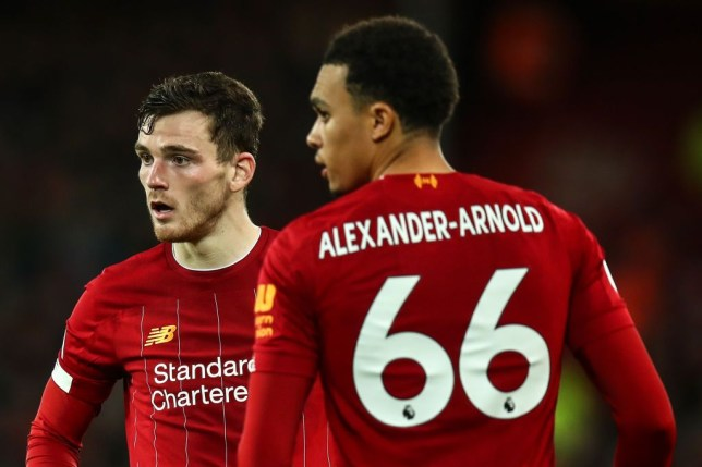 Andy Robertson hints at new position for 'world-class' Liverpool defender Trent Alexander-Arnold - Bóng Đá