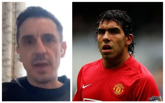 Gary Neville slams Carlos Tevez for 'messing around' at Manchester United - Bóng Đá