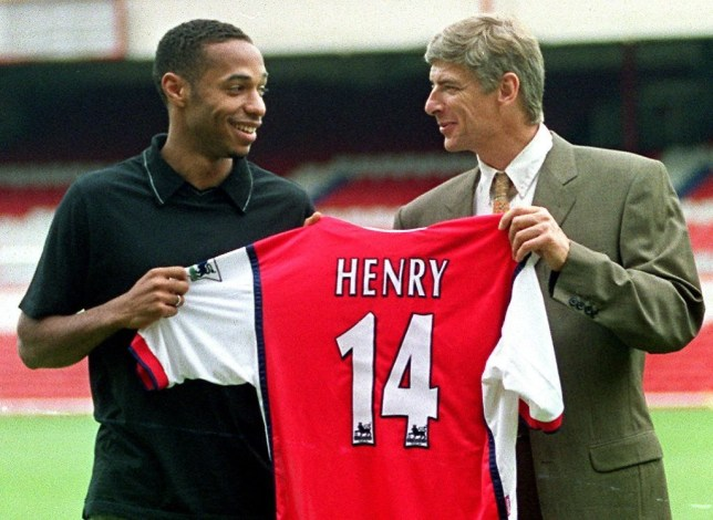 Thierry Henry reveals why he picked the number 14 when he joined Arsenal - Bóng Đá