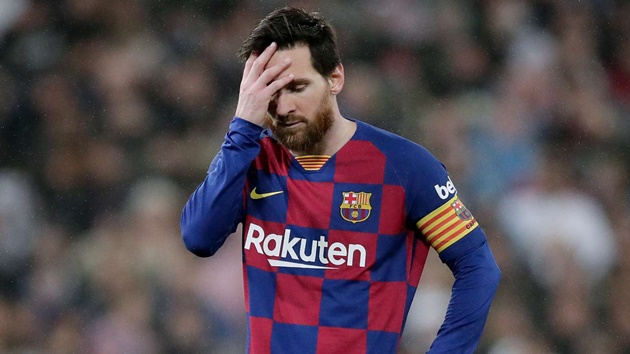 Messi: Barca can't win Champions League playing like we were - Bóng Đá