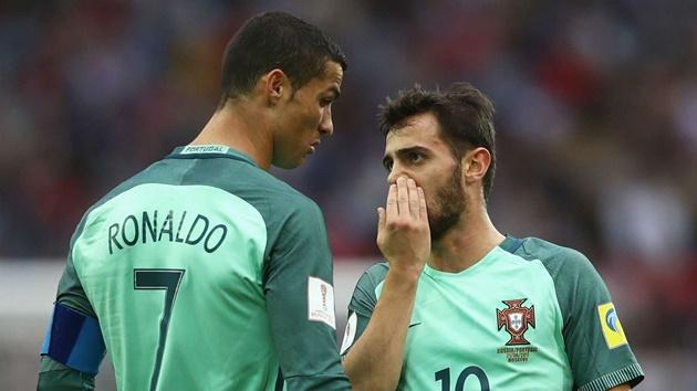 Even in training, it's always him! - Bernardo Silva reveals what makes Ronaldo so special - Bóng Đá
