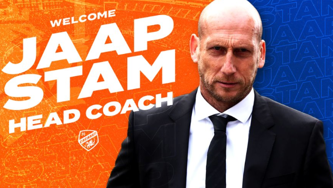 FC Cincinnati names ex-Manchester United player Jaap Stam as manager - Bóng Đá