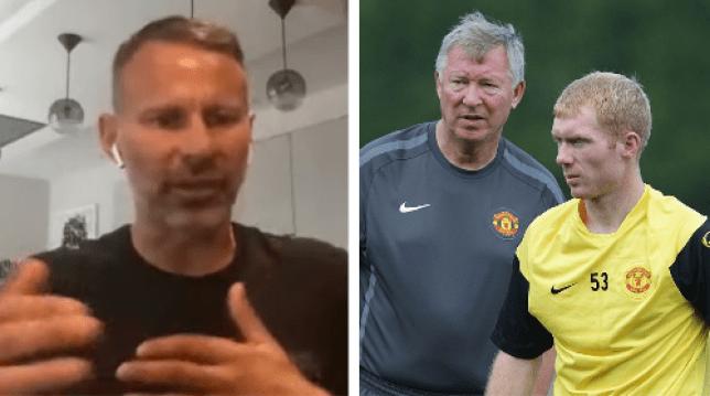 Man Utd legend Ryan Giggs reveals the Sir Alex Ferguson decision Paul Scholes couldn't handle - Bóng Đá