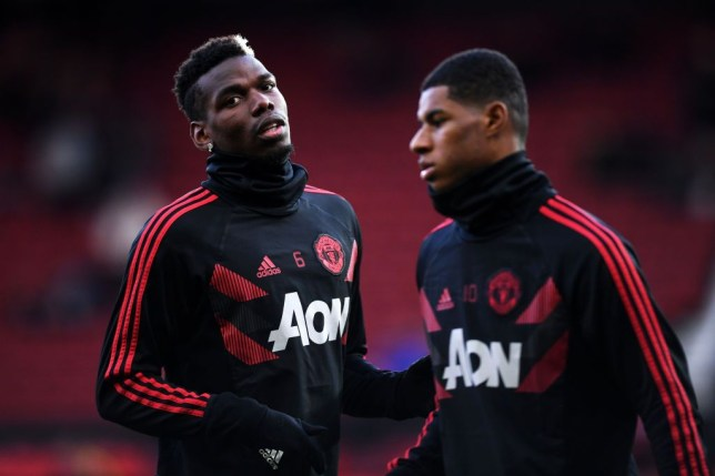 Ole Gunnar Solskjaer says Paul Pogba and Marcus Rashford are 'looking good' after returning to Manchester United training - Bóng Đá