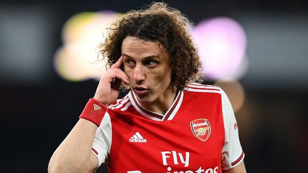 Arsenal's David Luiz future in doubt after contract extension delay - sources - Bóng Đá
