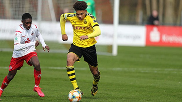 Nnamdi Collins: Dortmund's rapid defender who turned down Chelsea - Bóng Đá