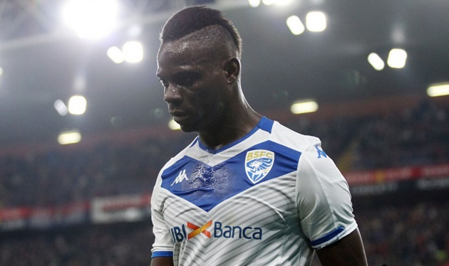 Balotelli's Brescia contract to be terminated - reports - Bóng Đá