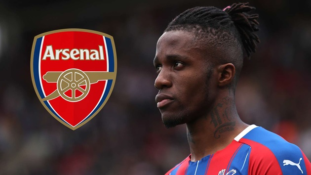 Zaha leaves door open to Palace exit after 'amazing' Arsenal interest - Bóng Đá