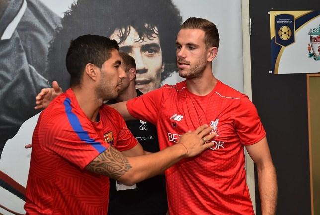 Jamie Carragher reveals how Jordan Henderson's bust-up with Luis Suarez in training helped save Liverpool career - Bóng Đá