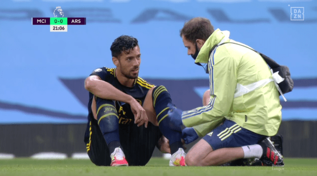 Pablo Mari ruled out of Arsenal's season with ankle injury - Bóng Đá