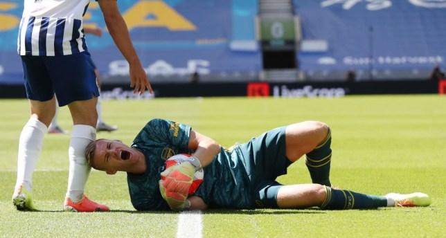Arsenal confirm Bernd Leno has avoided a serious knee injury - Bóng Đá