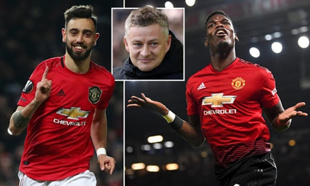 Ole Gunnar Solskjaer has no fears over Paul Pogba-Bruno Fernandes partnership and wants star to stay at Man Utd - Bóng Đá