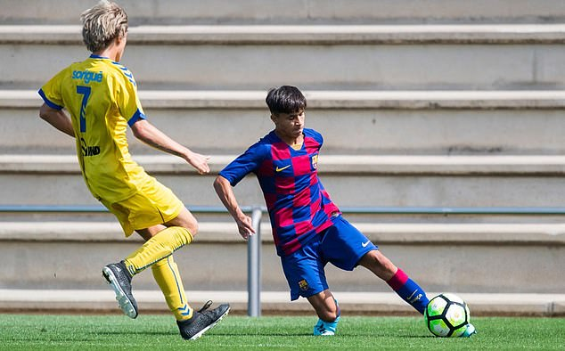 Manchester City on the verge of signing highly-rated Barcelona defender Juan Larios - Bóng Đá