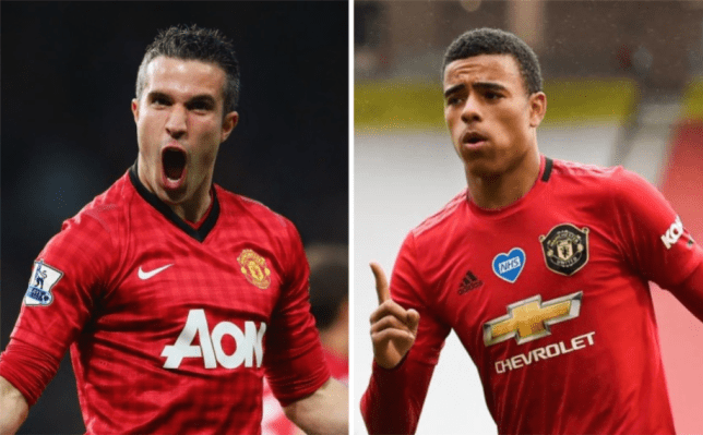 Robin van Persie reacts to Mason Greenwood comparisons after brace for Manchester United - Bóng Đá