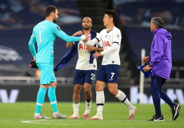 Hugo Lloris explains why he was so 'annoyed' with Son Heung-min during Tottenham's win over Everton - Bóng Đá