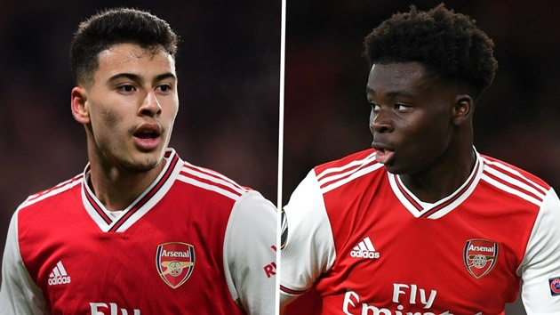 Martinez names the two 'different class' Arsenal stars who will become the world's best - Bóng Đá