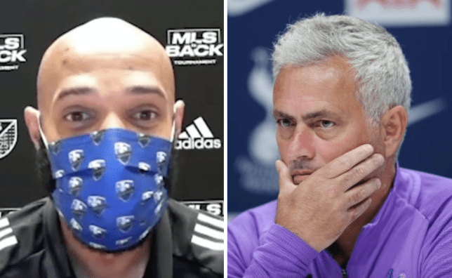 'I don't think about Tottenham, never did': Thierry Henry hits back at Jose Mourinho's Arsenal jibe - Bóng Đá