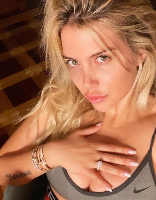 Wanda Icardi says she gives oral sex every night - Bóng Đá