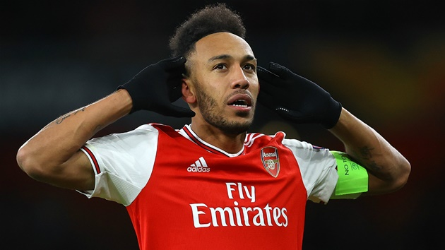 Arsenal's Aubameyang set to sign new £250,000-a-week contract - sources - Bóng Đá