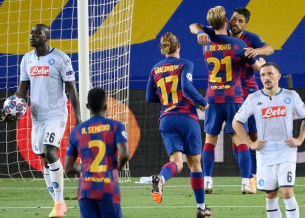 5 điểm nhấn Barcelona vs Napoli - Bóng Đá
