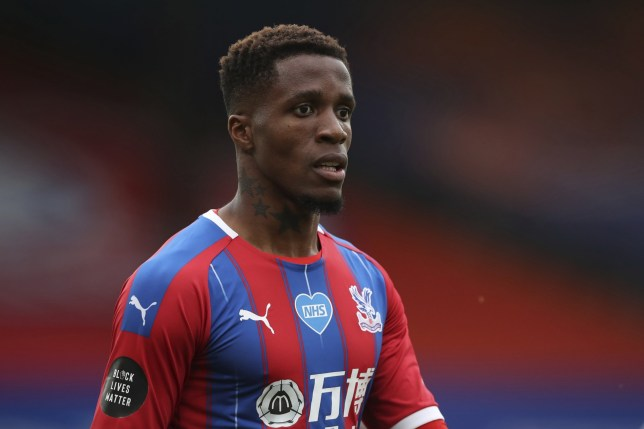 Wilfried Zaha breaks silence after 'sending transfer message to Arsenal' on Instagram - Bóng Đá