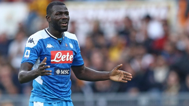 Kalidou Koulibaly to Man City transfer takes a step closer as Napoli agree replacement deal - Bóng Đá