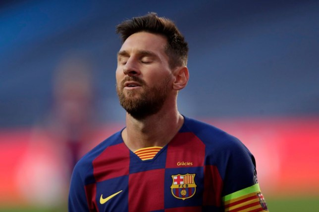 Lionel Messi slammed for 'giving up' by Steve McManaman as Barca are destroyed by Bayern - Bóng Đá