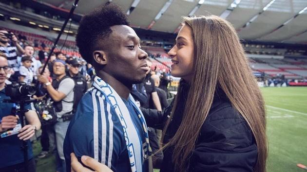 Meet Alphonso Davies' stunning girlfriend Jordyn Huitema who stars for PSG and spent entire lockdown with Bayern ace - Bóng Đá