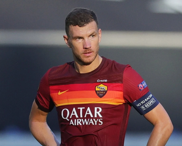 Edin Dzeko's stunning model wife Amra wants him to snub Juventus and Inter transfer interest and stay in Rome - Bóng Đá