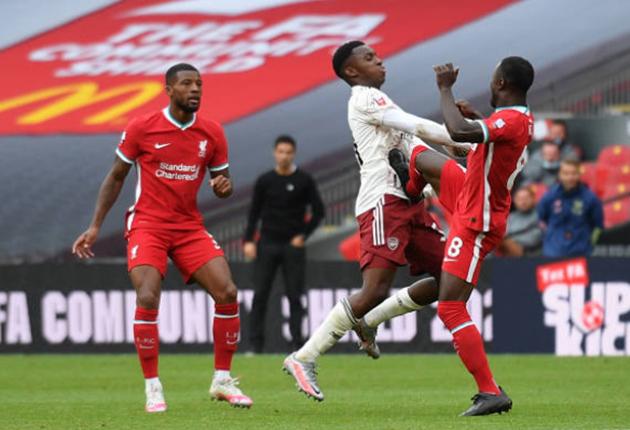 TRỰC TIẾP Arsenal 1-0 Liverpool: Mane bỏ lỡ đáng tiếc (H2) - Bóng Đá