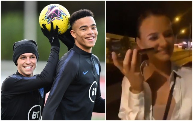 Video reveals Mason Greenwood and Phil Foden conversation with Icelandic woman before England axing - Bóng Đá