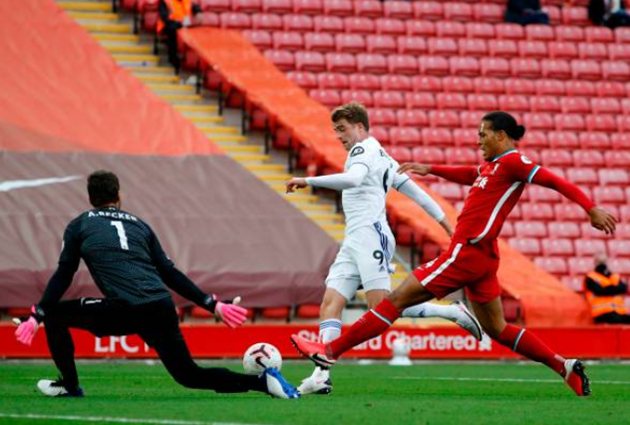 TRỰC TIẾP Liverpool 2-2 Leeds United: Van Dijk hóa tội đồ (H1) - Bóng Đá
