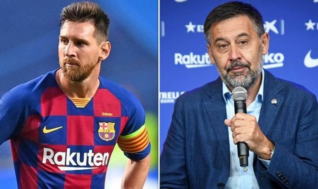 Barcelona's Bartomeu: 'I will not enter into any conflict with Messi' - Bóng Đá