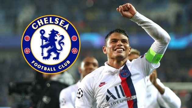 Thiago Silva: I could stay at Chelsea for longer than a year - Bóng Đá